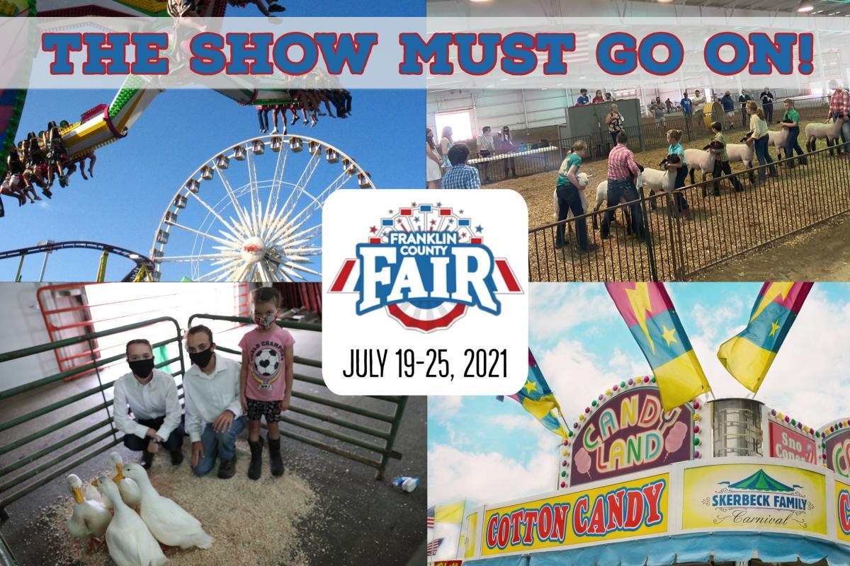 The Franklin County Fair is planning a full fair for 2021!